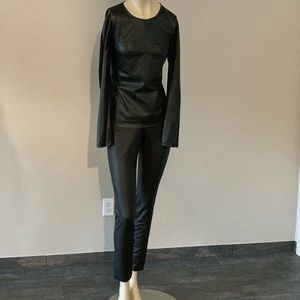 $119 ‼️Black BCBGMAXAZRIAGROUP leggings size M